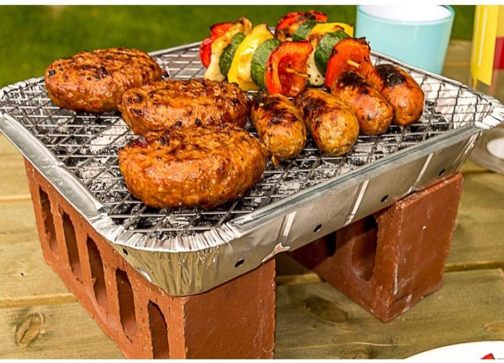 What is a disposable BBQ